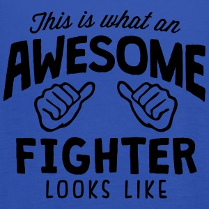 awesome fighter looks like - Women's Tank Top by Bella