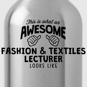awesome fashion  textiles lecturer looks - Water Bottle