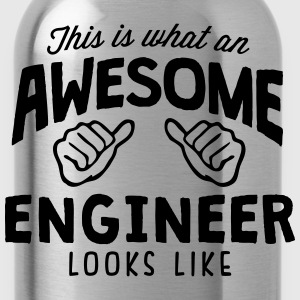 awesome engineer looks like - Water Bottle
