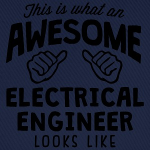 awesome electrical engineer looks like - Baseball Cap