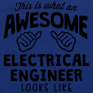 awesome electrical engineer looks like - Tote Bag