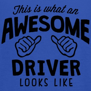 awesome driver looks like - Women's Tank Top by Bella