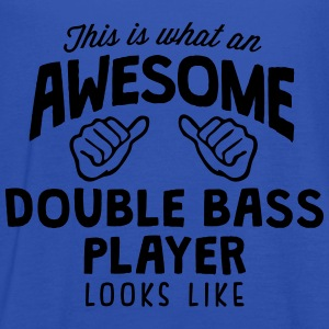 awesome double bass player looks like - Women's Tank Top by Bella