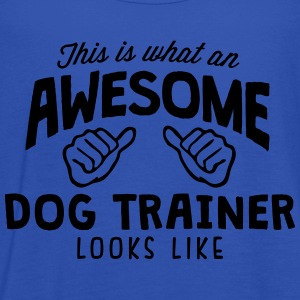 awesome dog trainer looks like - Women's Tank Top by Bella