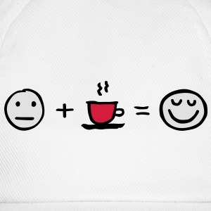 LOVEshirt Coffee makes me happy - Baseballkappe