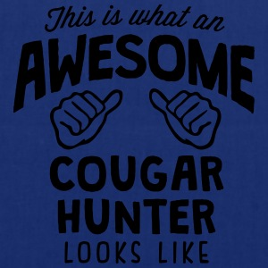 awesome cougar  looks like - Tote Bag