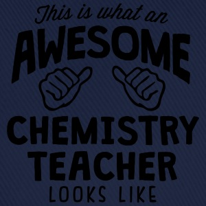 awesome chemistry teacher looks like - Baseball Cap
