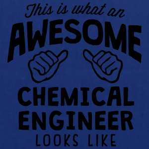 awesome chemical engineer looks like - Tote Bag