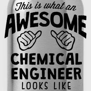 awesome chemical engineer looks like - Water Bottle
