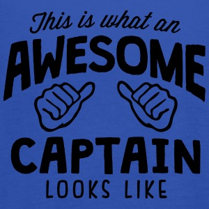 awesome captain looks like - Women's Tank Top by Bella