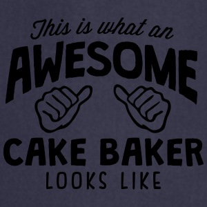 awesome cake baker looks like - Cooking Apron