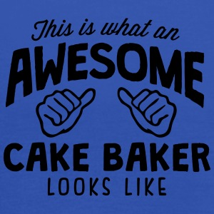 awesome cake baker looks like - Women's Tank Top by Bella