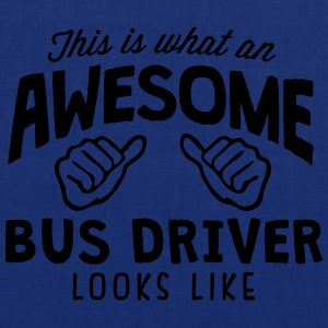 awesome bus driver looks like - Tote Bag