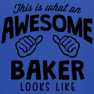 awesome baker looks like - Women's Tank Top by Bella