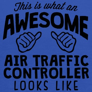 awesome air traffic controller looks lik - Women's Tank Top by Bella