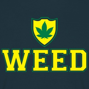 Weed Ecusson Sweat-shirts - T-shirt Homme