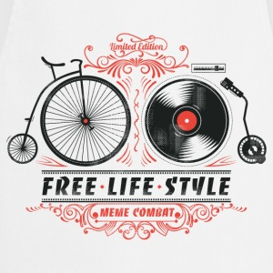 Heather grey Free-Life-Style Cycling T-Shirt - Cooking Apron
