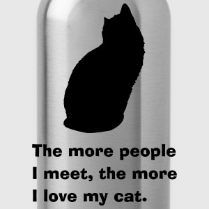 cat people Shirts - Water Bottle