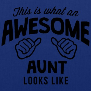 this is what an awesome aunt looks like - Tote Bag