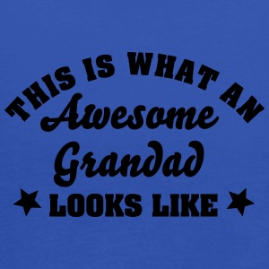 this is what an awesome grandad looks li - Women's Tank Top by Bella