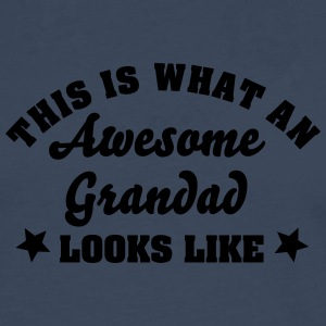 this is what an awesome grandad looks li - Men's Premium Longsleeve Shirt