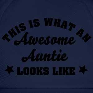 this is what an awesome auntie looks lik - Baseball Cap