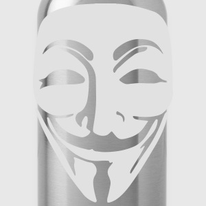 Anonymous Mask T-Shirt - Water Bottle