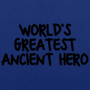worlds greatest ancient hero - Tote Bag