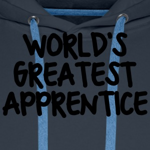 worlds greatest apprentice - Men's Premium Hoodie