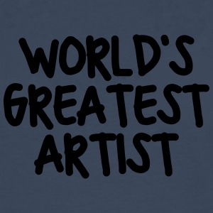worlds greatest artist - Men's Premium Longsleeve Shirt