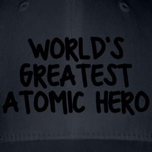worlds greatest atomic hero - Flexfit Baseball Cap