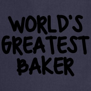worlds greatest baker - Cooking Apron