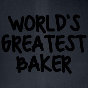 worlds greatest baker - Flexfit Baseball Cap