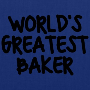worlds greatest baker - Tote Bag