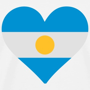 A heart for Argentina Baby Bodysuits - Men's Premium T-Shirt