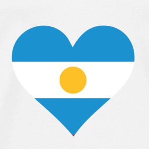 A heart for Argentina Shirts - Men's Premium T-Shirt