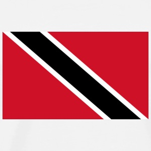 National flag of Trinidad and Tobago Long Sleeve Shirts - Men's Premium T-Shirt