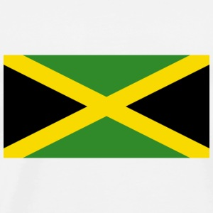National Flag of Jamaica Toppe - Herre premium T-shirt