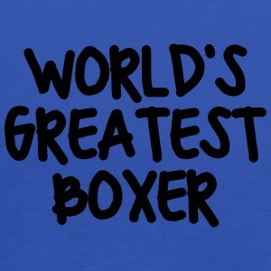 worlds greatest boxer - Women's Tank Top by Bella
