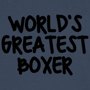 worlds greatest boxer - Men's Premium Longsleeve Shirt