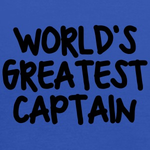 worlds greatest captain - Women's Tank Top by Bella