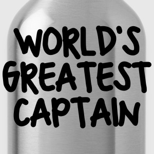 worlds greatest captain - Water Bottle