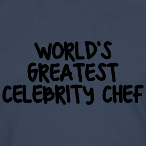 worlds greatest celebrity chef - Men's Premium Longsleeve Shirt