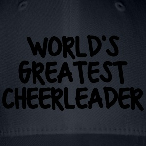 worlds greatest cheerleader - Flexfit Baseball Cap