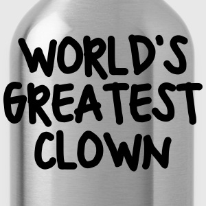 worlds greatest clown - Water Bottle