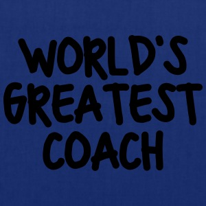 worlds greatest coach - Tote Bag