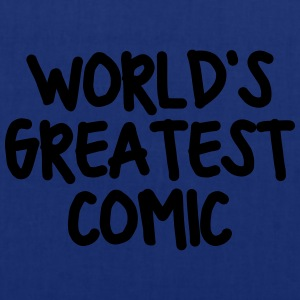 worlds greatest comic - Tote Bag
