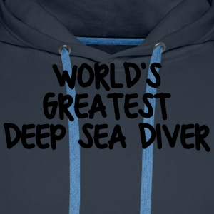 worlds greatest deep sea diver - Men's Premium Hoodie