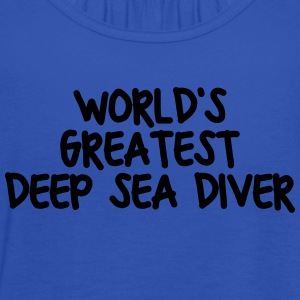 worlds greatest deep sea diver - Women's Tank Top by Bella