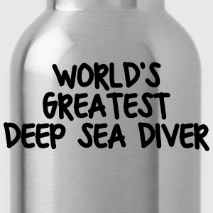 worlds greatest deep sea diver - Water Bottle